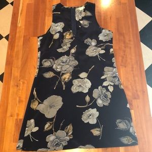 Dresses & Skirts - Blue Floral Dress Size Large Runs Small